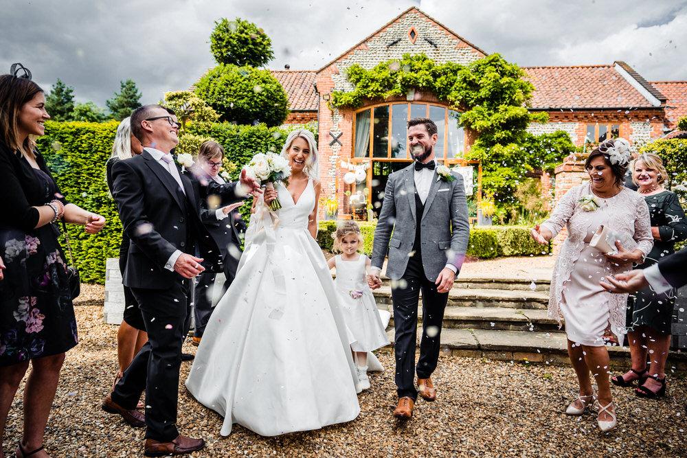 Confetti Secret Garden Wedding James Powell Photography