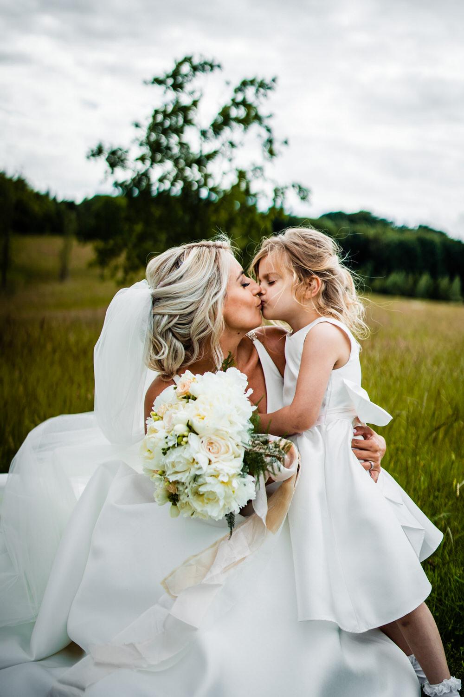 Flower Girl Dress Secret Garden Wedding James Powell Photography