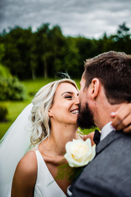 Bride Bridal Hair Style Up Do Veil Secret Garden Wedding James Powell Photography