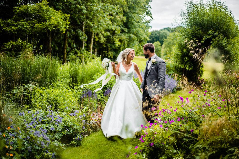 Bride Bridal Dress Gown Justin Alexander Princess Secret Garden Wedding James Powell Photography