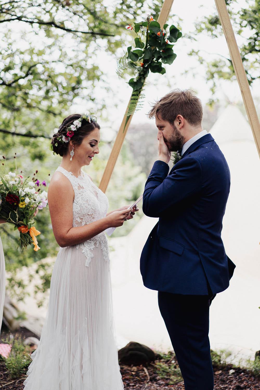Tipi Garden Wedding Kit Myers Photography