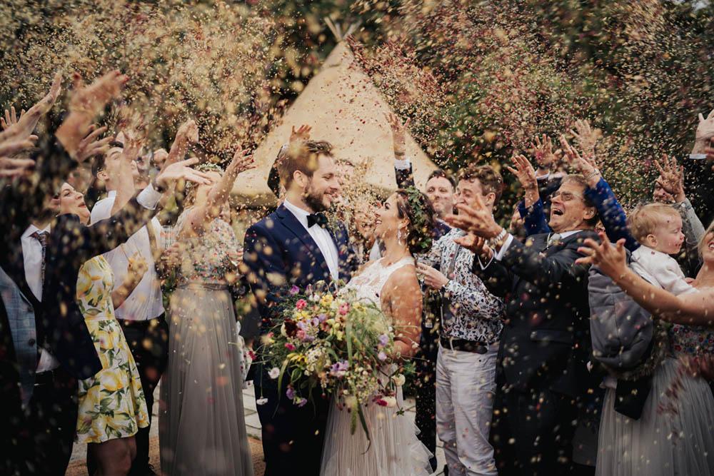 Confetti Tipi Garden Wedding Kit Myers Photography