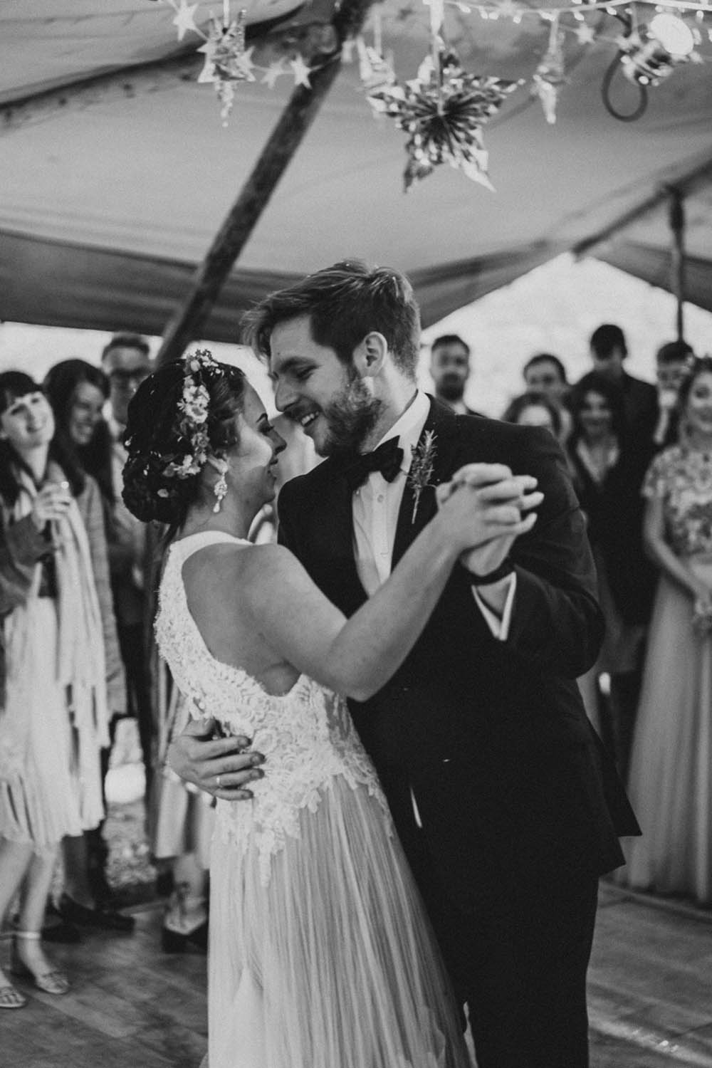 First Dance Tipi Garden Wedding Kit Myers Photography