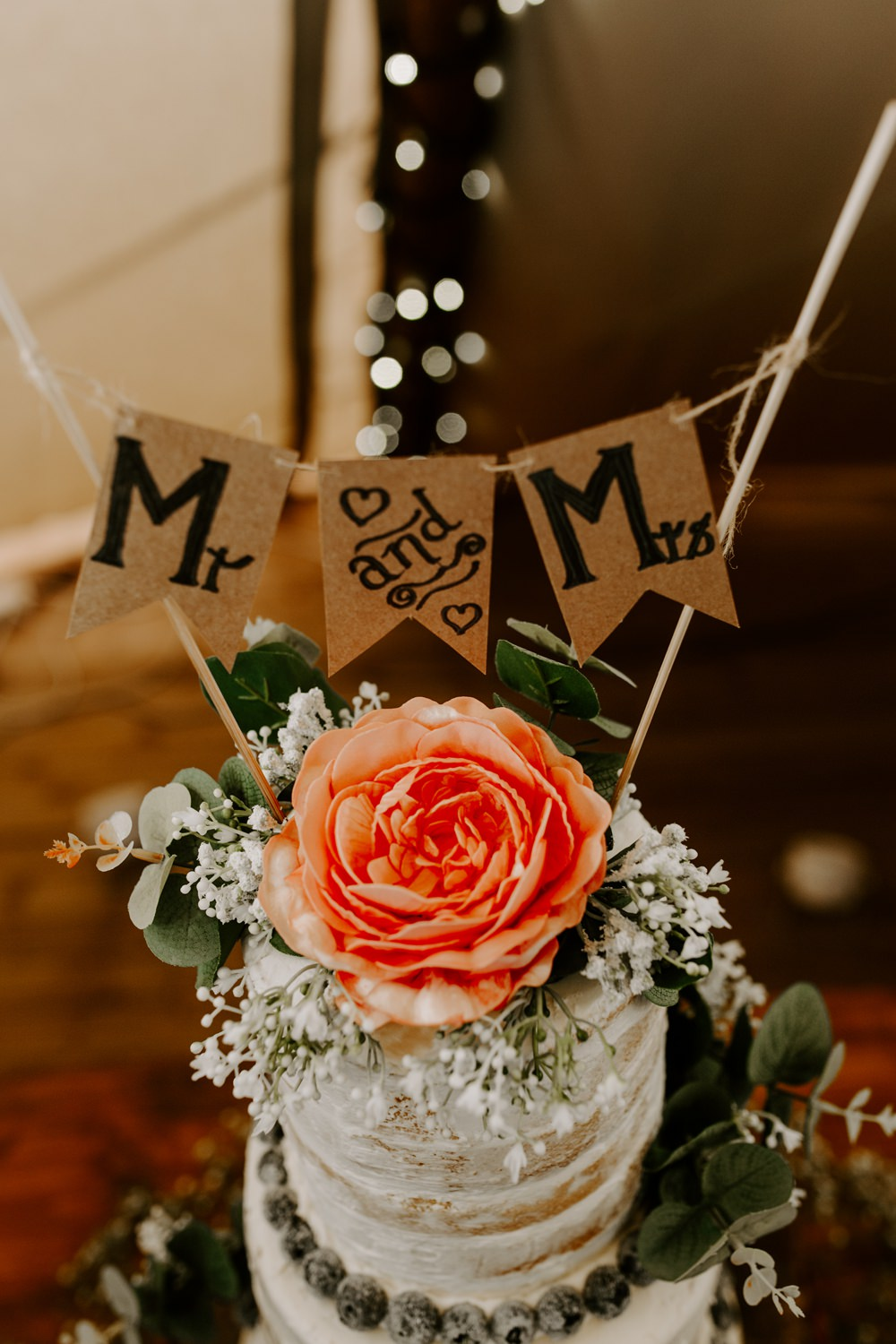 Cake Topper Flowers Floral Bunting Topper Tipis Riley Green Wedding Jessica Isherwood Photography