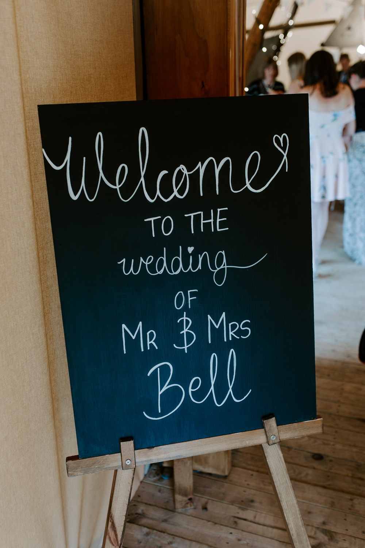 Welcome Sign Chalkboard Calligraphy Tipis Riley Green Wedding Jessica Isherwood Photography
