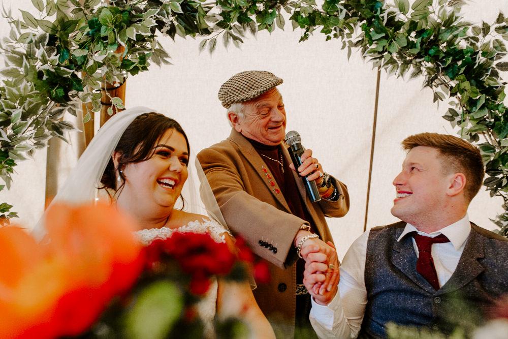 Del Boy Speech Tipis Riley Green Wedding Jessica Isherwood Photography