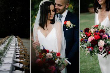 Incredibly Stylish Outdoor Tuscany Wedding