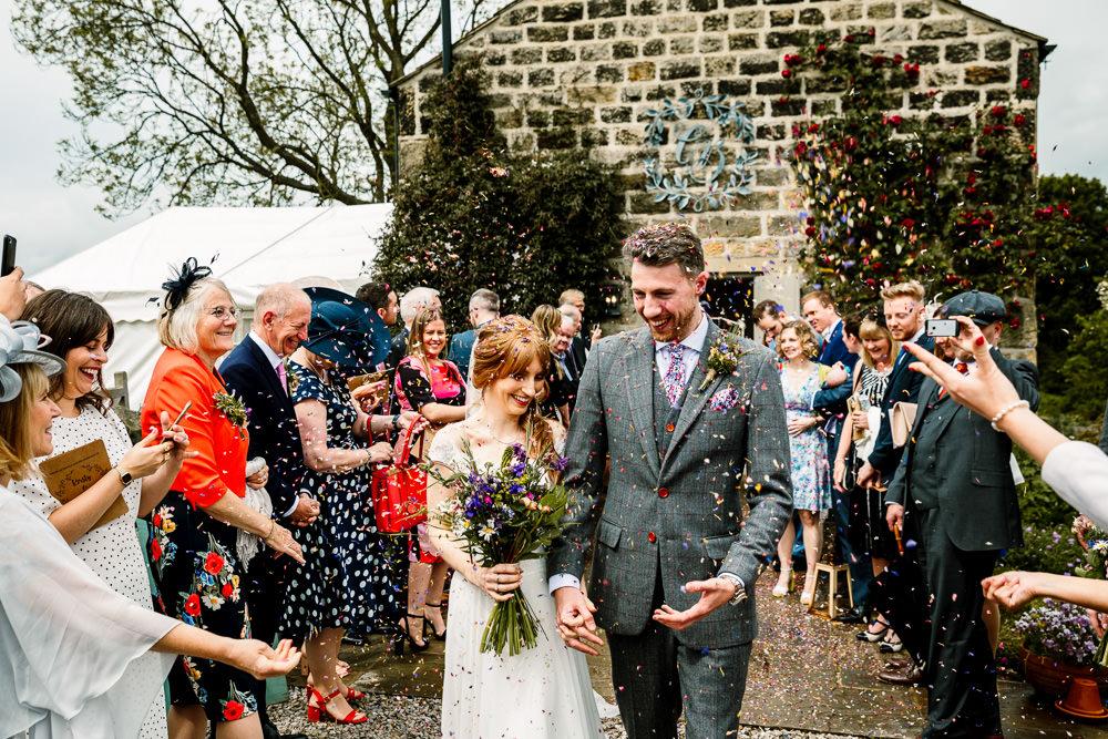 Confetti Yorkshire Barn Wedding Hayley Baxter Photography