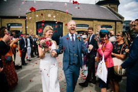 Confetti Bridal Jumpsuit Wedding Emily Jarrett Photography