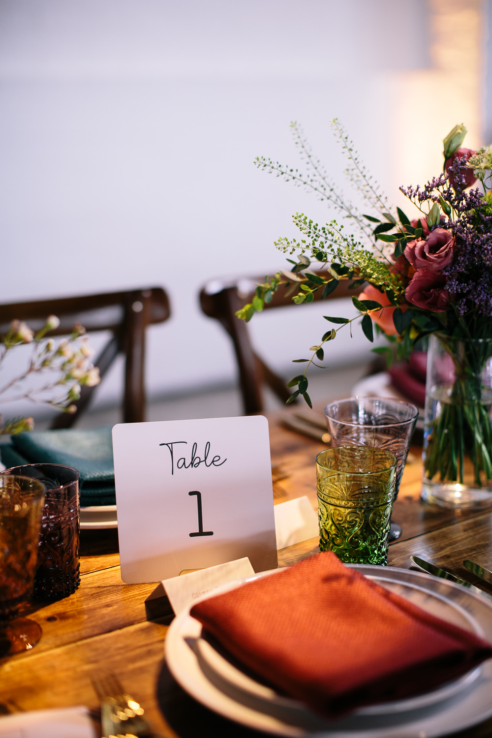 Table Number Bridal Jumpsuit Wedding Emily Jarrett Photography