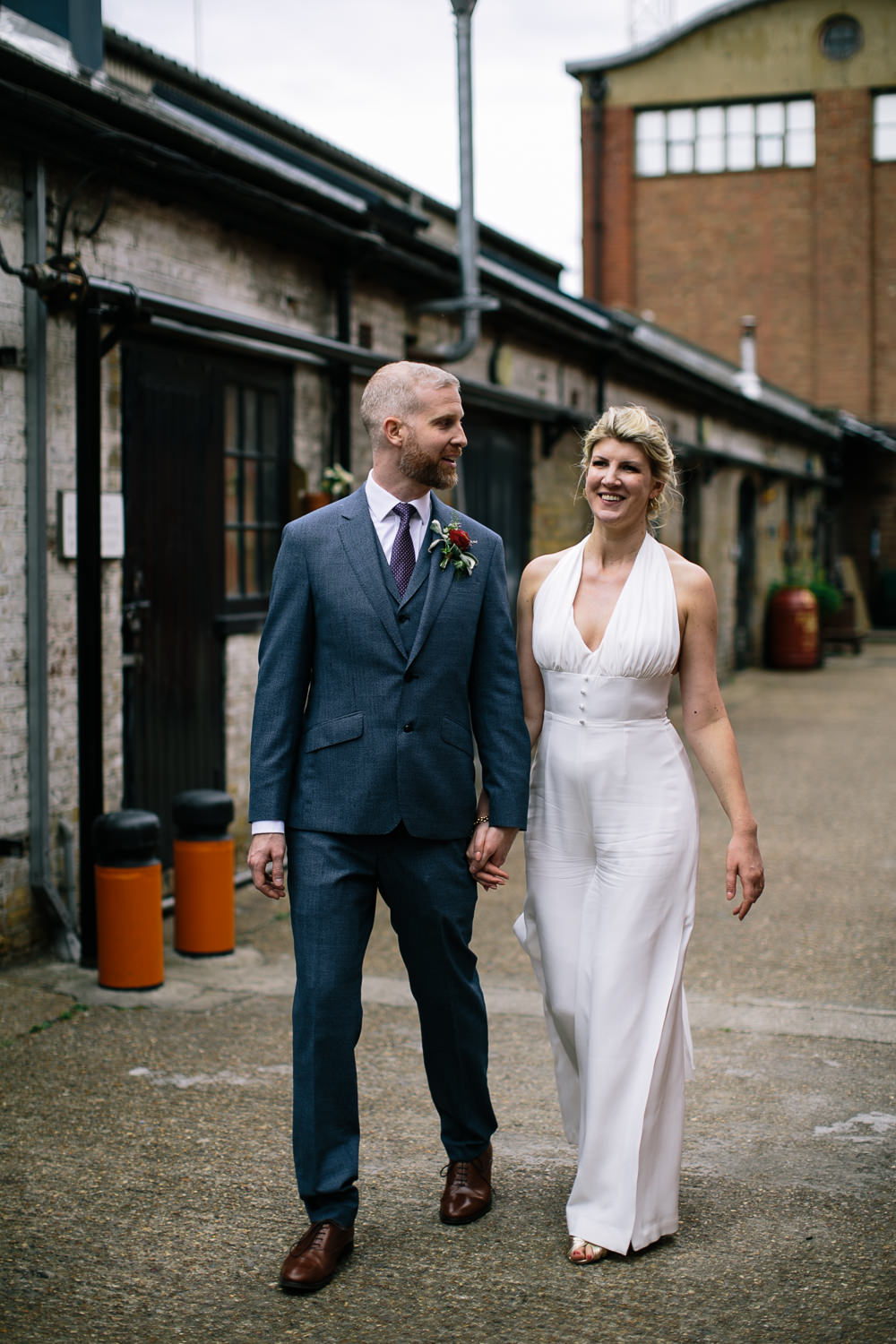 Bridal Jumpsuit Wedding Emily Jarrett Photography