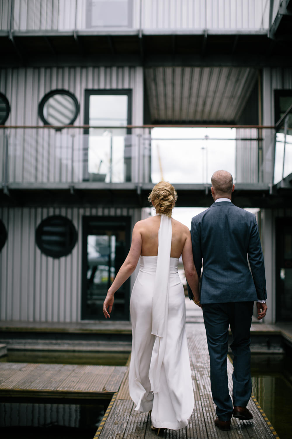 Bride Outfit Attire Bridal Jumpsuit House of Ollichon Wedding Emily Jarrett Photography
