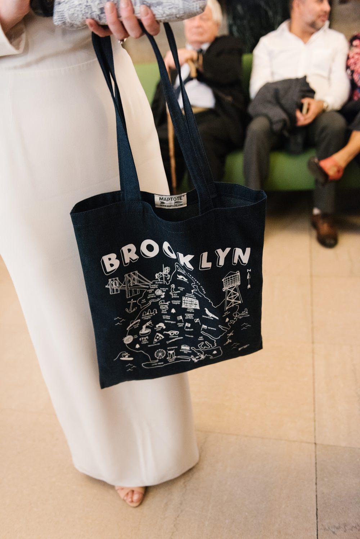Tote Bag Bride Bridal Brooklyn Elopement Everly Studios