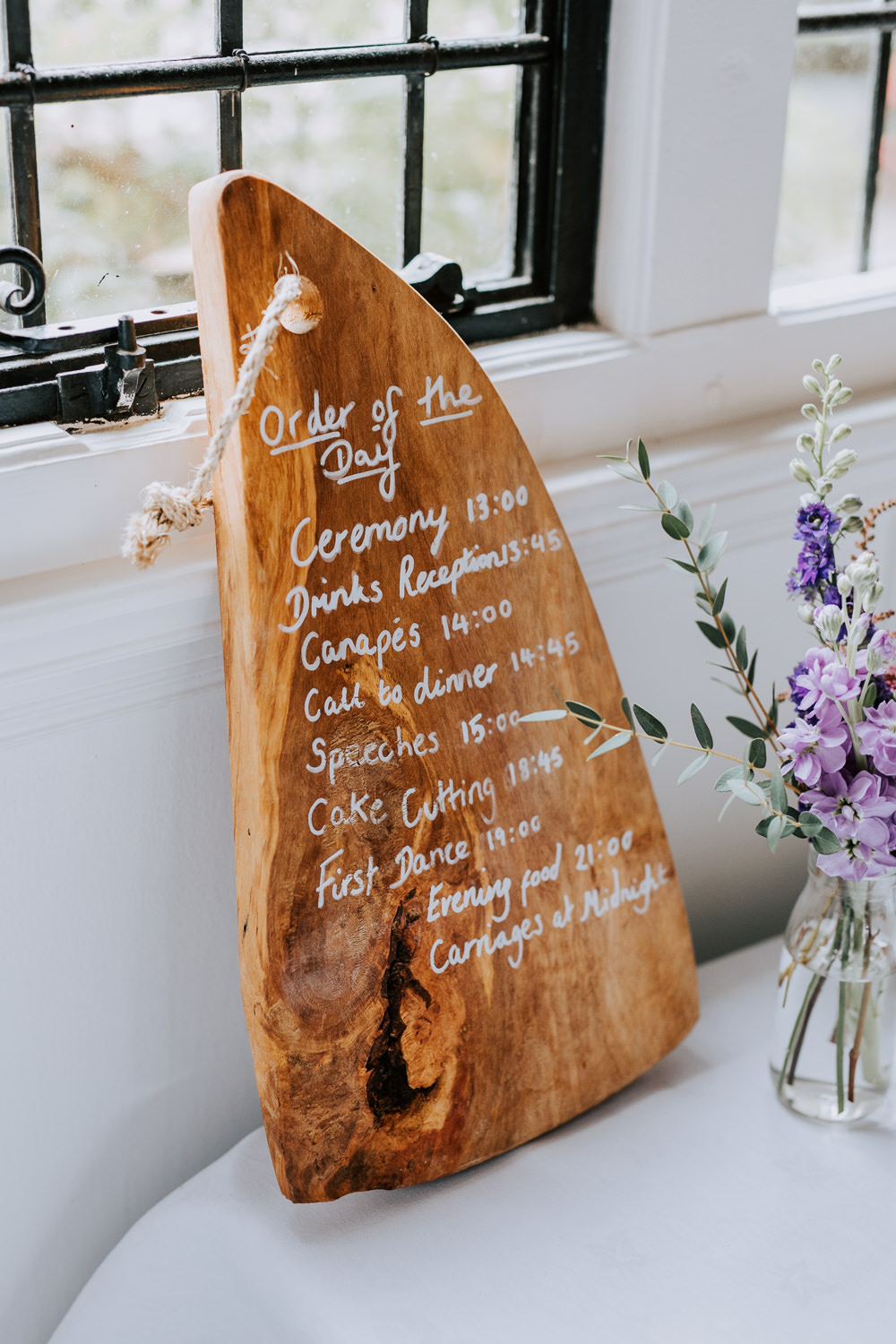 Wood Wooden Sign Signs Sigange Butley Priory Wedding Sally Rawlins Photography