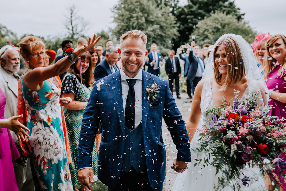 Seriously Stylish & Romantic Wedding with Colourful Woodland Vibes