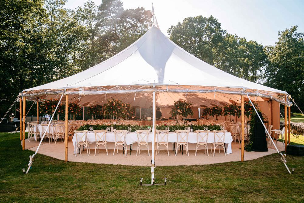 Sperry Tent Carousel Wedding Sarah Legge Photography