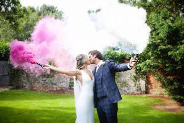 Authentic English Countryside Barn Wedding