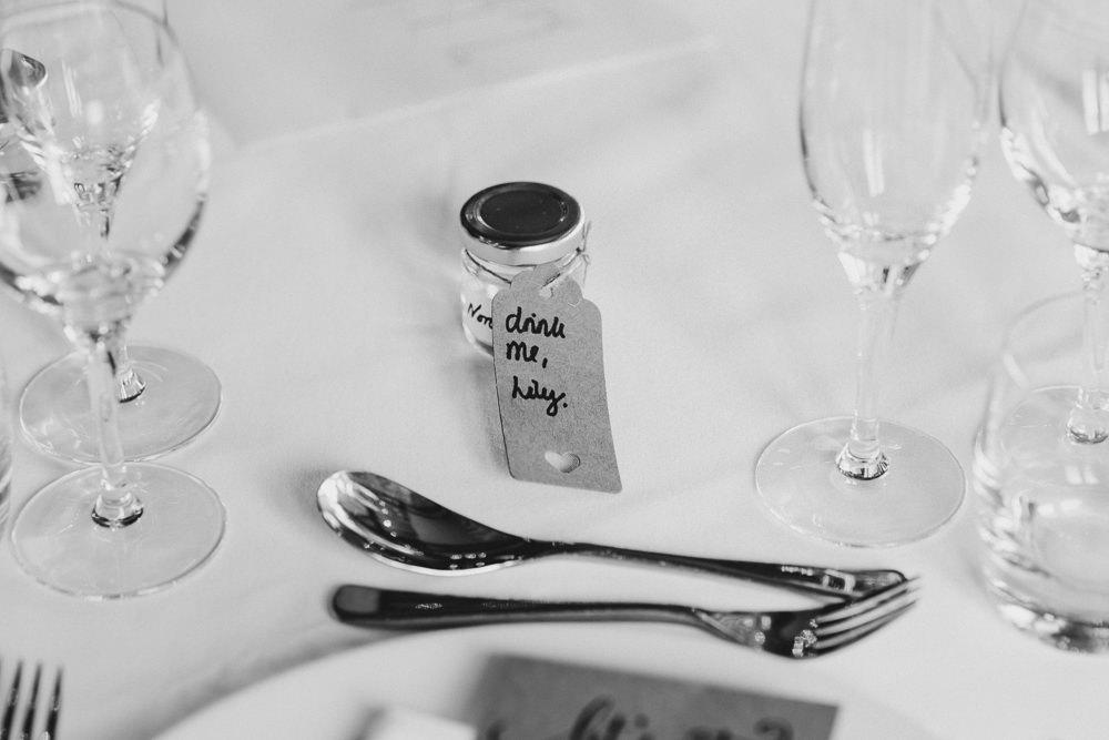 Favours Jars Deer Park Hall Wedding Curious Rose Photography