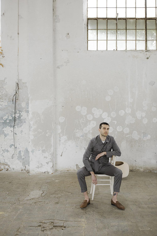 Groom Suit Grey Loafers Ethereal Artistic Wedding Ideas Francesca Francesca