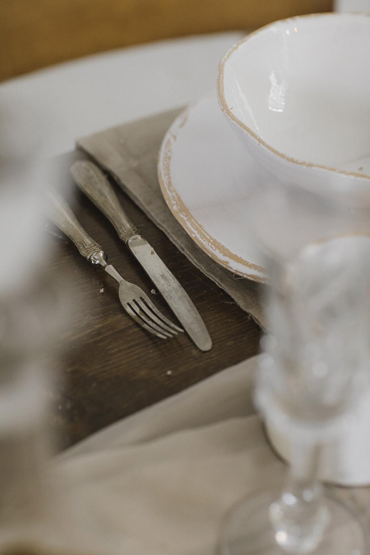 Cutlery Ethereal Artistic Wedding Ideas Francesca Francesca