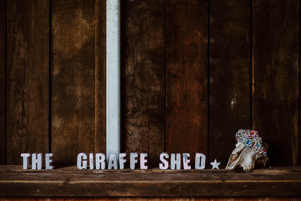 Giraffe Shed Wedding When Charlie Met Hannah