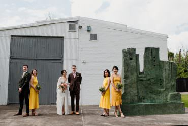 Modern & Cool Wedding with Sensational Style