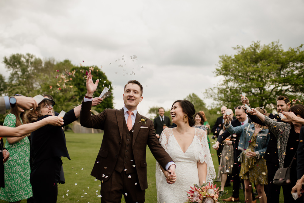 Confetti Henry Moore Wedding Ellie Gillard Photography