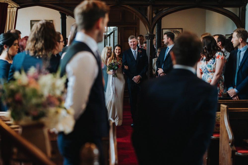 High Barn Wedding Edenhall Bloom Weddings