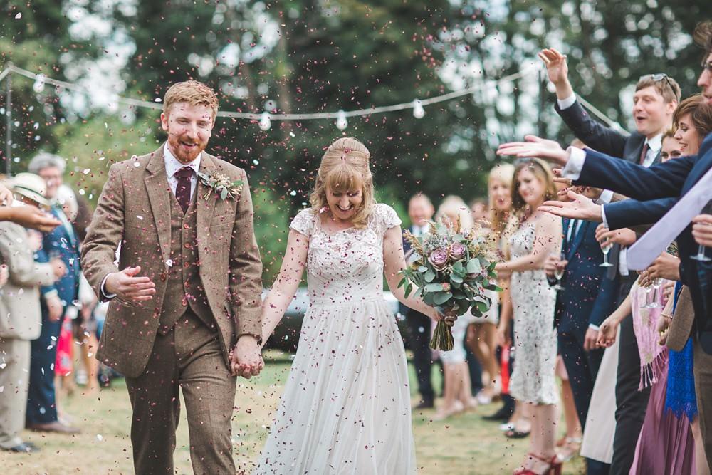 Confetti Letchworth Wedding Milkbottle Photography