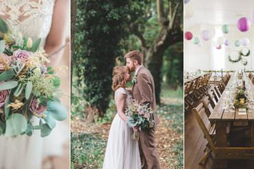 Rustic Scandi Inspired Wedding with Greenery & Copper Touches
