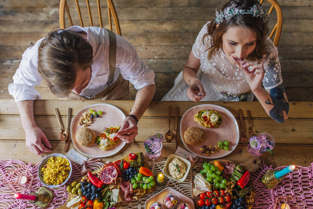 Grazing Table Platter Sharing Food Playful Cool Wedding Ideas Sophie Lake Photography