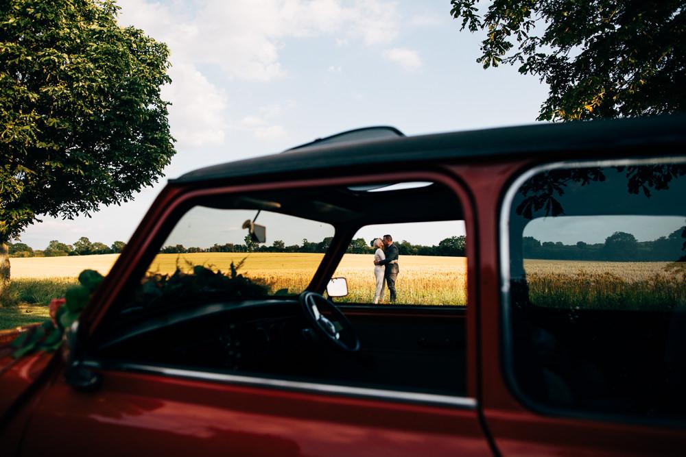 Mini Car Transport Retro Wedding Ideas Emily Little Wedding Photography