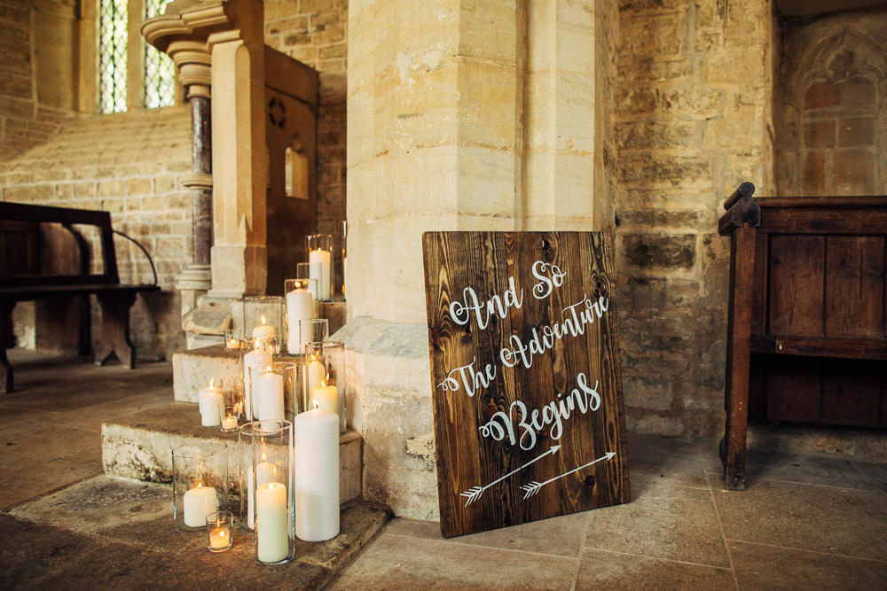 Wooden Sign Love Adventure Signs Signage Retro Wedding Ideas Emily Little Wedding Photography
