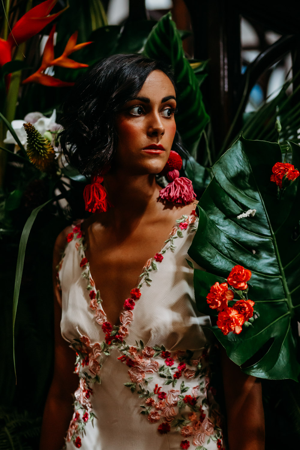 Bride Bridal Make Up Tropical Wedding Ideas When Charlie Met Hannah