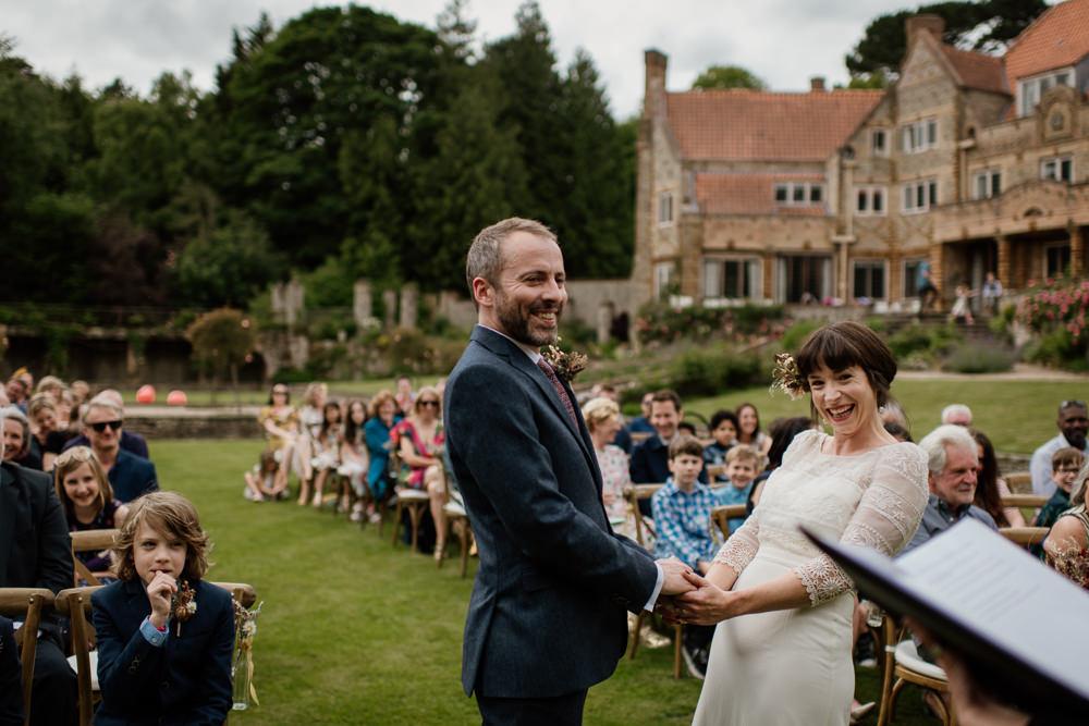 Outdoor Ceremony Voewood Wedding Ellie Gillard Photography