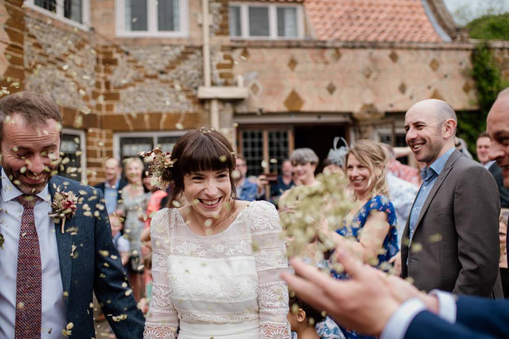 Confetti Voewood Wedding Ellie Gillard Photography