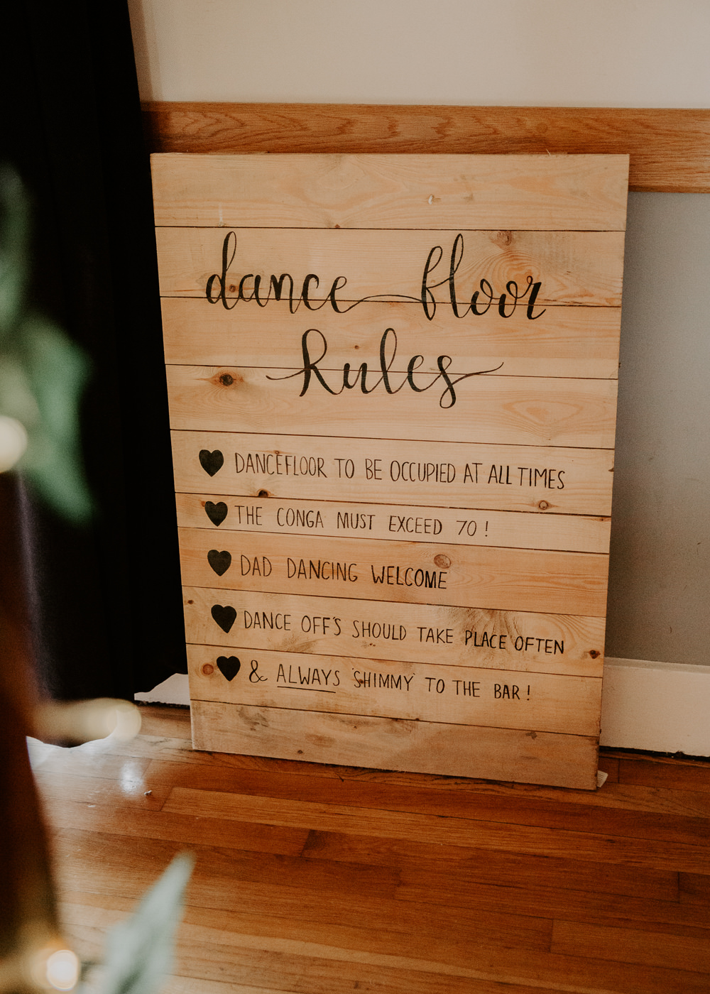 Dance Floor Rules Willingale Village Hall Wedding Photographer Liam Gillan
