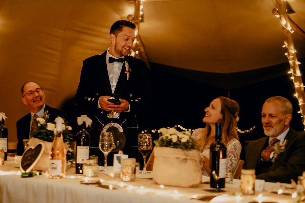Woodland Tipi Wedding Caroline Goosey Photography