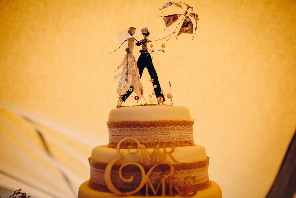 Cake Topper Umbrella Bride Groom Alderford Lake Wedding Amy B Photography