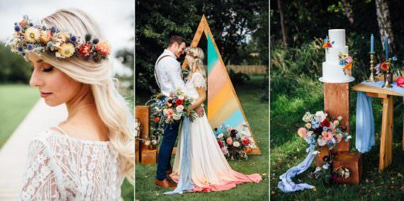 Autumn Festival Wedding Ideas Indigo and Violet Photography