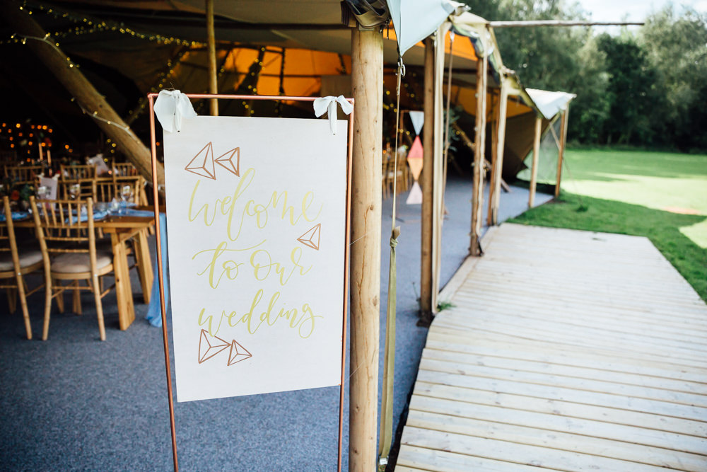 Triangle Geometric Sign Signs Signage Autumn Festival Wedding Ideas Indigo and Violet Photography