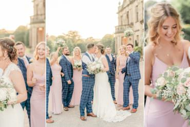 Classic & Super Pretty Pale Pink Wedding