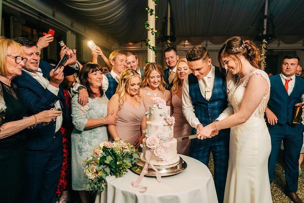 Beamish Hall Wedding Carn Patrick Photography
