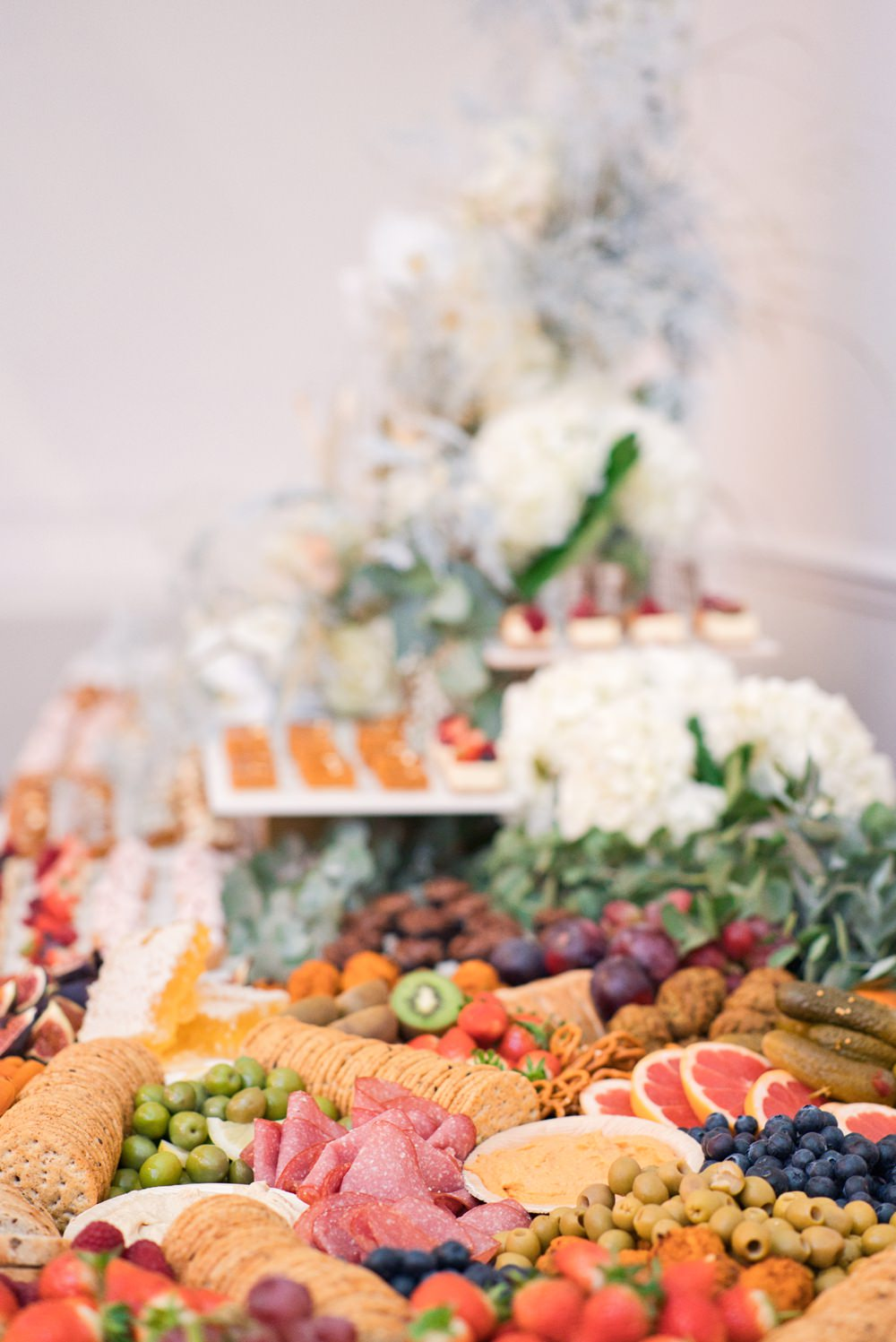 BERRY and Brie Wedding Grazing Tables & Platters