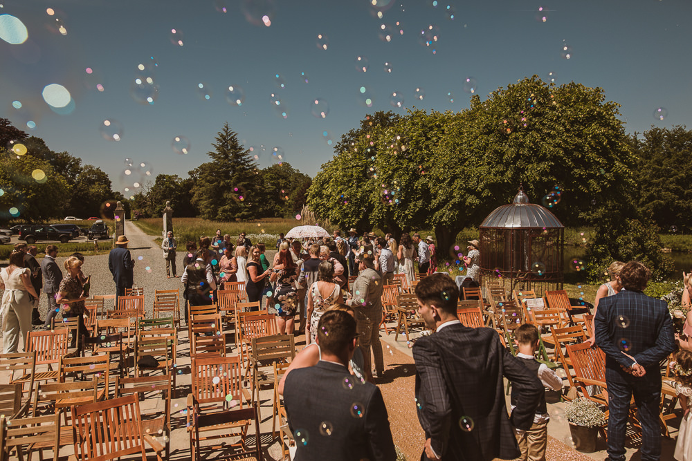Bubble Confetti Escape To The Chateau Wedding The Springles