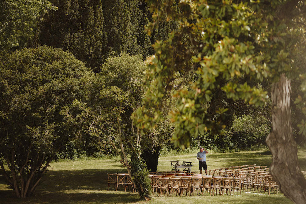 French Chateau Wedding Red On Blonde Photography