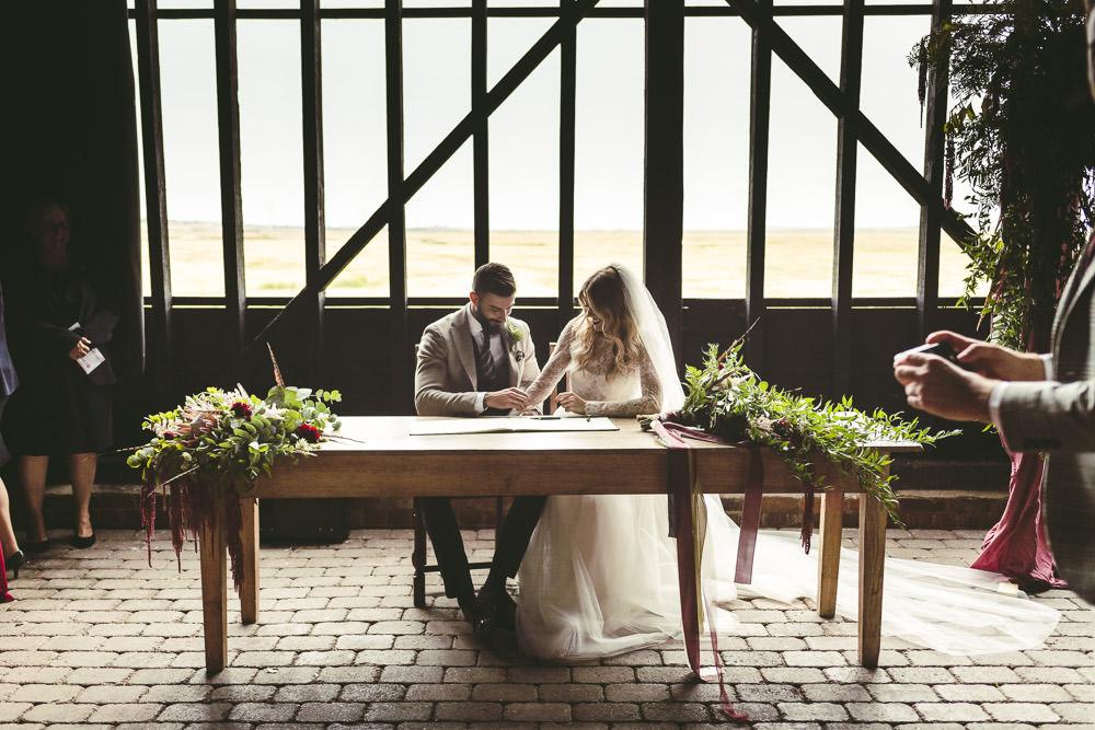 Kingshill Barn Wedding Sandra Reddin Photography