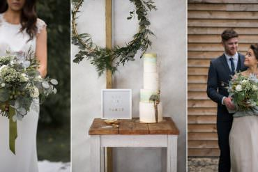 Minimalist Scandinavian Wedding Ideas with Cosy Vibes & Greenery