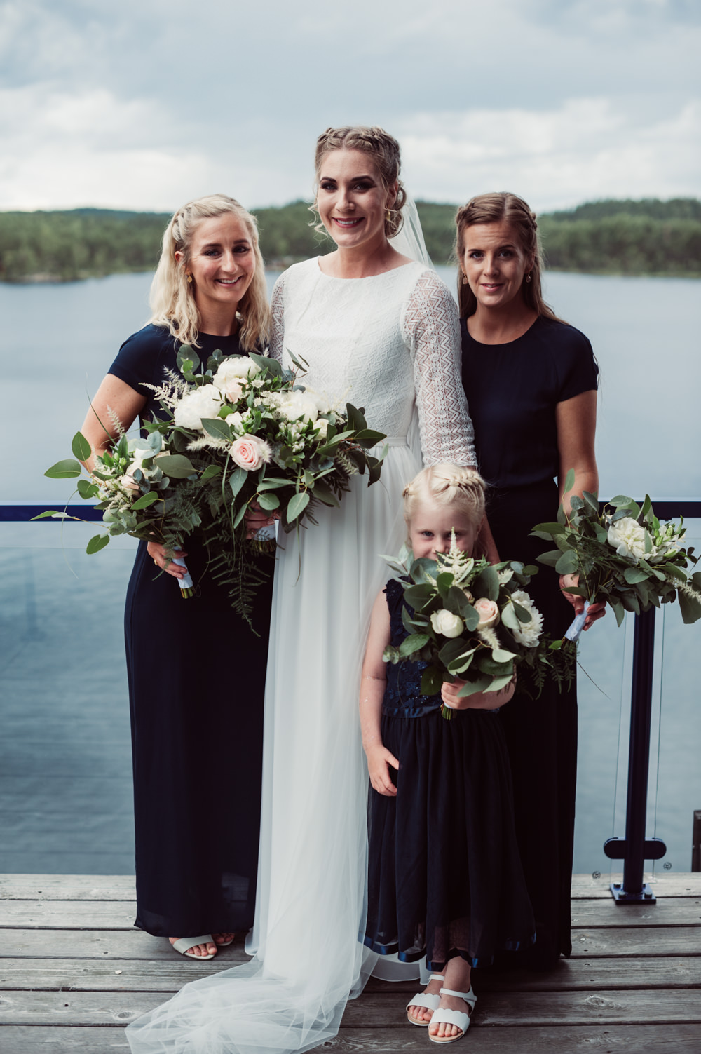 Bridesmaids Bridesmaid Dress Dresses Long Norway Wedding Maximilian Photography