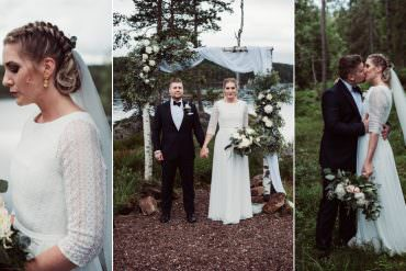 Bohemian & Simple Wedding in Norway